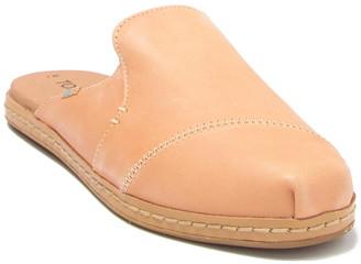 Toms Nova Leather Wrap Slip-On Mule