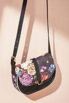 Anthropologie Danset Floral Saddle Bag