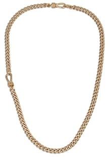 AllSaints Albert Chain Link Collar Necklace