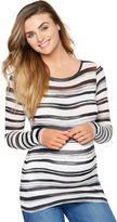 A Pea in the Pod Bcbg Max Azria Striped Maternity Shirt