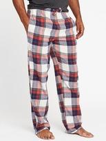 Old Navy Patterned Flannel Sleep Pants for Men