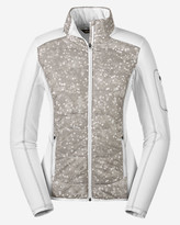Eddie Bauer Women's IgniteLite Hybrid Jacket - Print