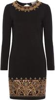 Emilio Pucci Embellished stretch-jersey mini dress