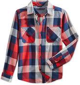 Tommy Hilfiger Ansel Flannel Shirt, Big Boys (8-20)