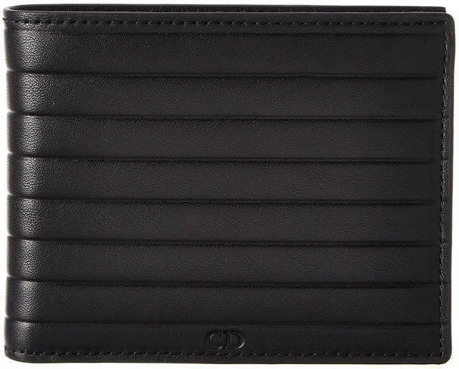 Christian Dior Leather Bifold Wallet