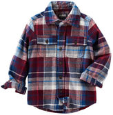 Osh Kosh 2-Pocket Flannel Shirt