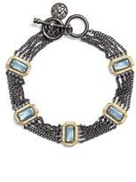 Freida Rothman Women's Modern Mosaic Chain Bracelet