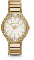 Michael Kors Kerry Pave Gold-Tone Watch