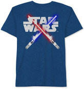 Star Wars Lightsaber Graphic-Print T-Shirt, Big Boys (8-20)
