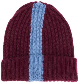 Danielapi block stripe cable knit benaie