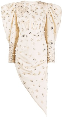 Loulou Crystal Embellished Dress
