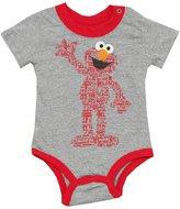Elmo Sesame Street Word Body Cartoon Baby Creeper Romper Snapsuit
