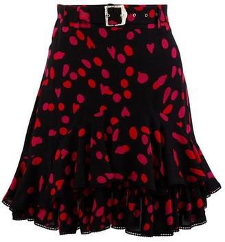 Koché Belted skirt
