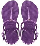 Havaianas Freedom, Girls Sandals,8/9 Child UK (25/26 Brazilian) (27/28 EU)