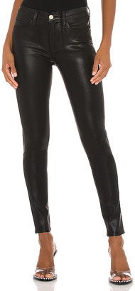 Frame Le Skinny Coated Jean. - size 24 (also