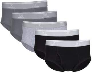 George Big Men's Briefs, 5-Pack