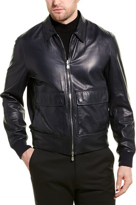 Brunello Cucinelli Reversible Leather Jacket