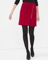 White House Black Market Red Boot Skirt