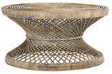 Safavieh Grimson Large Bowed Coffee Table