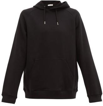 Givenchy Logo-print Cotton Hooded Sweatshirt - Black