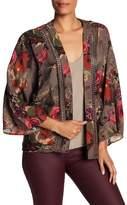 Anama Crochet Detail Pattern Cardigan