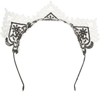 Morgan & Taylor Lace Crown Fascinator