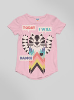 Junk Food Clothing Kids Girls Today I Will Dance Tee-patti-m