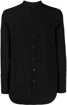 Neil Barrett Mandarin Collar Shirt