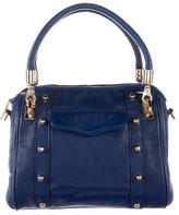 Rebecca Minkoff Peg-In-Hole Leather Satchel