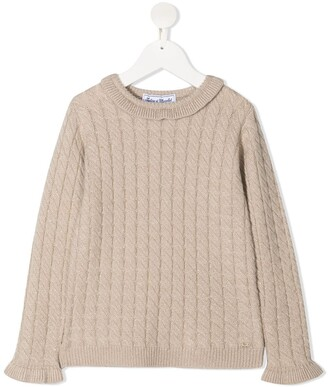 Tartine et Chocolat Cable Knit Sweater