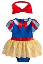 StylesILove.com StylesILove Snow White Inspired Photo Prop Baby Girl Dress Costume and Headband 2-pc (6-12 Months)