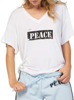 Peace Love World Mia I Am Peace V-Neck Tee
