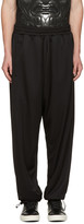 Marcelo Burlon County of Milan Black Zacarias Lounge Pants