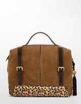 VINCE CAMUTO Jewell Suede Satchel