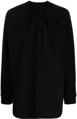 MM6 MAISON MARGIELA Twist-Detail Sweatshirt