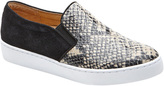 Women's Vionic with Orthaheel Technology Midi Double Gore Slip-On Sneaker