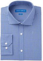 Vince Camuto Men's Slim-Fit Stretch Indigo Gingham Dress Shirt