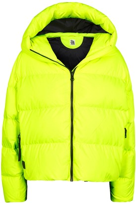 Bacon Cloud Neon Yellow Quilted Shell Jacket