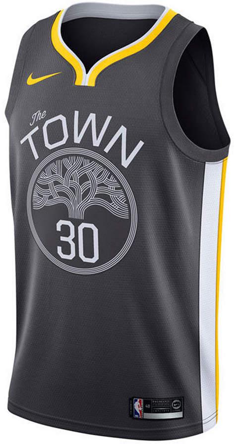 sale retailer e4970 f8489 Men Stephen Curry Golden State Warriors Statement Swingman Jersey