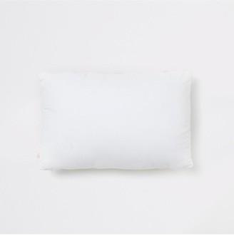 River Island White Zigzag Beaded Cushion