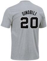adidas Men's San Antonio Spurs Manu Ginobili Player T-Shirt