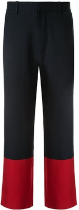 Ports V Colour Block Trousers