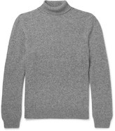 A.P.C. Camel Hair Rollneck Sweater