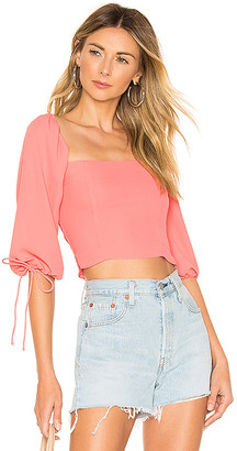 superdown Emilia Square Neck Top