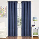 Eclipse Curtains Eclipse Kids Kendall Blackout Thermal Curtain Panel,Denim,84-Inch