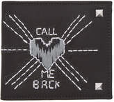 Valentino Black Garavani Call Me Back Wallet