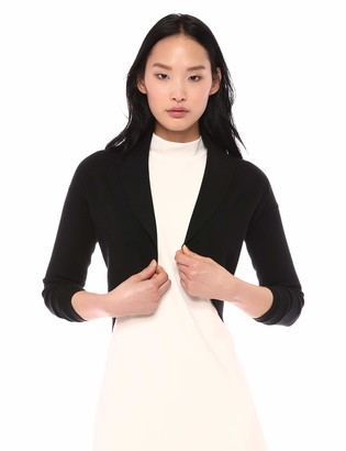 Theory Women's Long Sleeve Cropped Shrug