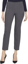 St. John Stretch Diamond Jacquard Capri Pants