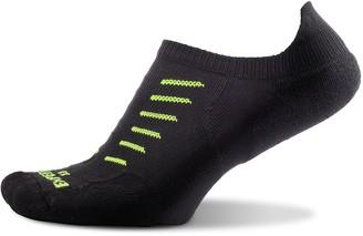 Thorlos Experia Thin Padded No Show Tab Sock Black L