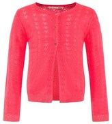 Billieblush Fluorescent Pink Knitted Cardigan